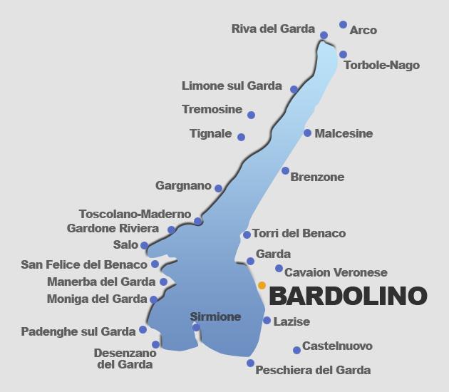 Karte Gardasee Dolcevita Journal