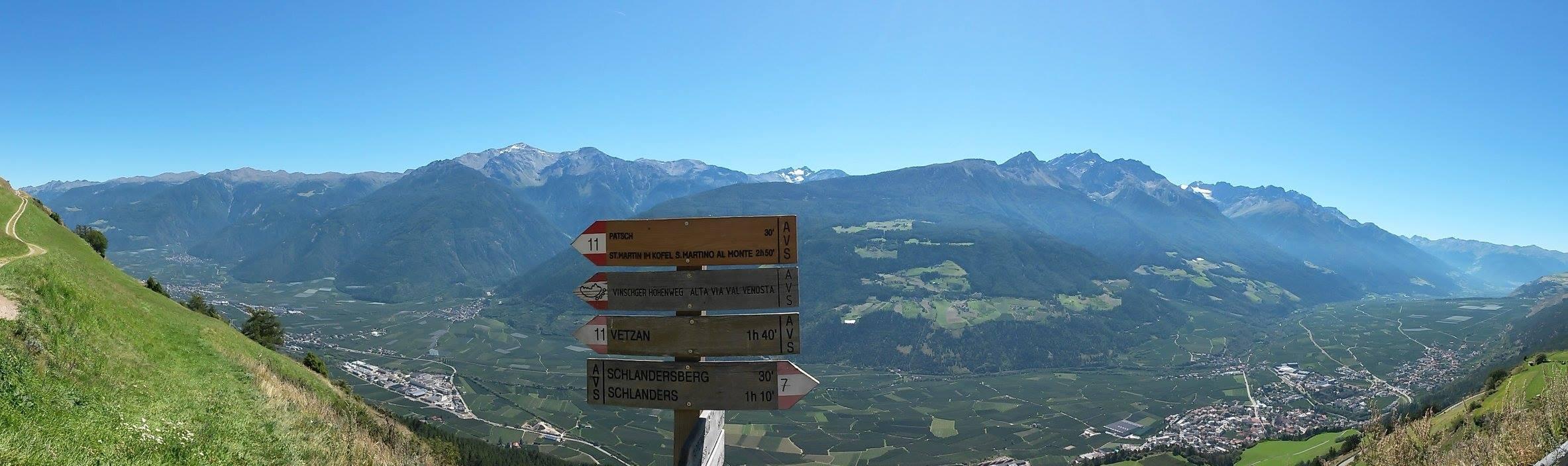 Wandern Vinschgau