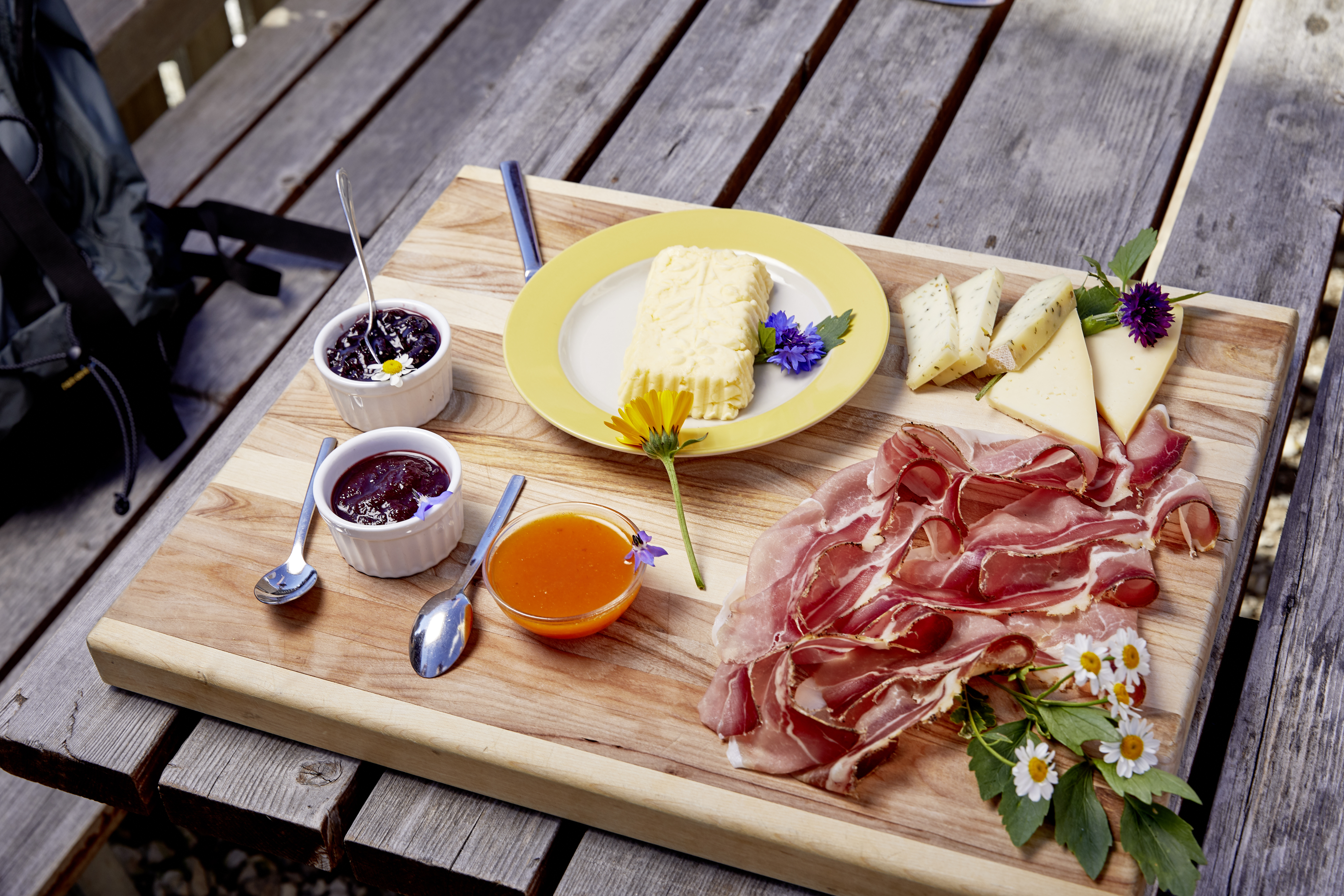 Genießen Sie während Ihres Aufenthalts in den DolceVita Hotels die Südtiroler Marende