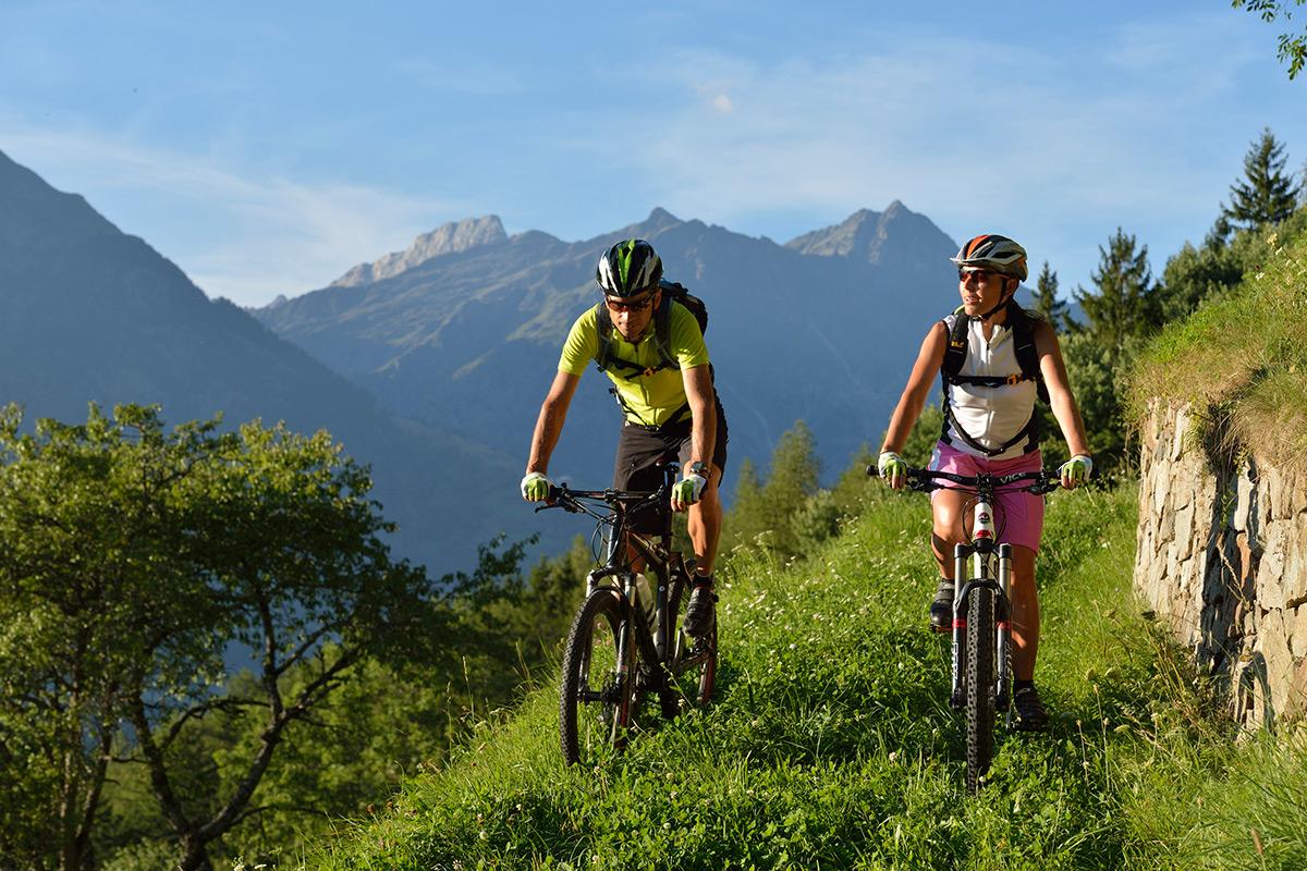 Erlebnisreicher MTB Urlaub in Südtirol