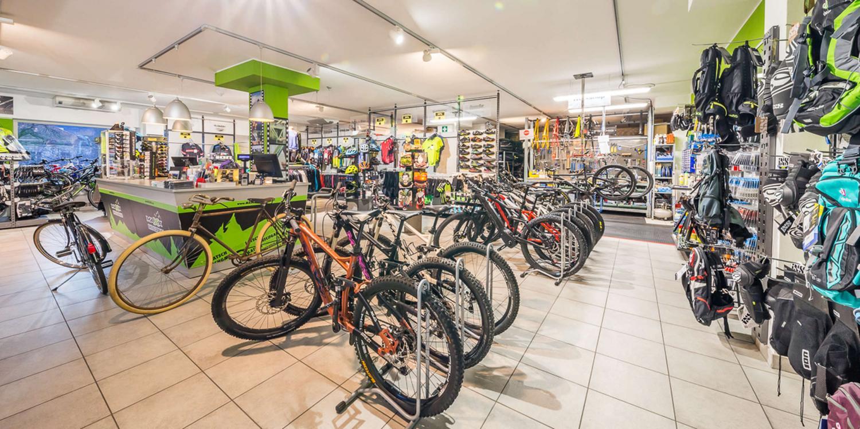Hoteleigener Bike-Shop