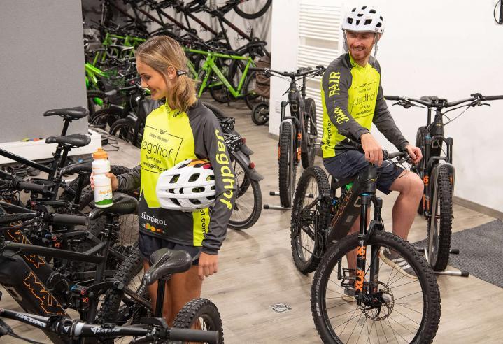 Bikeverleih im Sporthotel Latsch